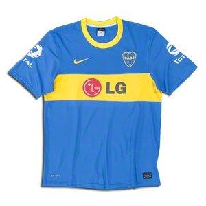 meet 765ff 1fd23 2010-11 Boca Juniors Nike Home Shirt (Palermo 9), Jerseys ...
