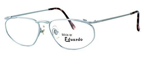 Fashion Optical Company Designer Reading Glasses Venus in Matte Silver 54mm with Case - Venus Eyewear