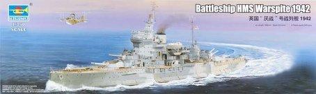 Trumpeter HMS Warspite British Battleship 1942