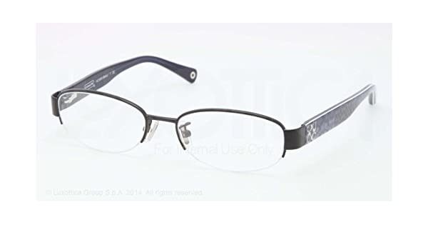 6e47ce7bfb31 Amazon.com: Coach Betsy Eyeglasses HC5030 9077 Satin Black Demo Lens 52 17  135: Shoes