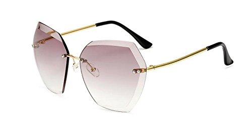 vintage de lunettes style en métallique soleil Gris polarisées cercle Lennon Progressif du inspirées retro rond w00qdH