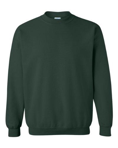Gildan Men's Heavy Blend Crewneck Sweatshirt - Medium - Forest (Gildan Kids Sweatshirt)