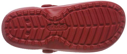 Pepper Crocs Unisex Adults' Clogs Clsclinedclog Red 0X0qrA