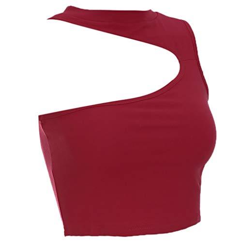 AOJIAN Tunic Sweatshirts for Women,Tunic Sweater,Tunic Dress,Tank Tops for Women,Tank Tops for Men,Tank Tops,Tank Tops with Built in Bra,Tankini Swimsuits for Women with Shorts Red by AOJIAN (Image #5)