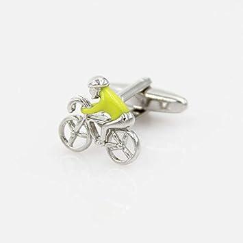 THNSIOE Gemelos de diseñador para Hombre Bicicleta Bicicleta ...