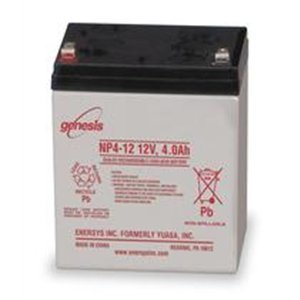 EnerSys Genesis NP4-12 - 12 Volt/4 Amp Hour Sealed Lead A...