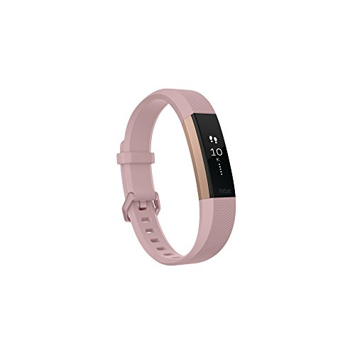 Fitbit Alta HR, Special Edition Pink Rose Gold, Small (US Version) (Renewed)