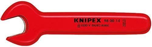 クニペックス 絶縁片口スパナ 19mm 980019