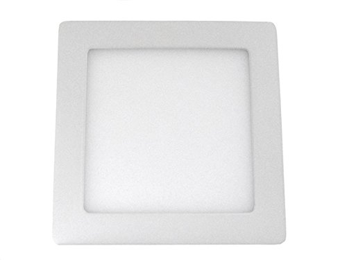 Plafoniera Muro Led : Plafoniera faretto led da soffitto muro parete quadrata 12w