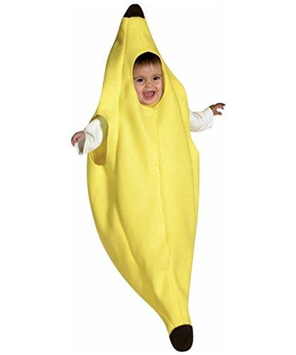 Banana Bunting Baby Infant Costume - Newborn -