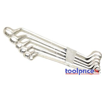 6 Pc Offset Box Wrench Set - SAE (Sae Double Box Wrench)