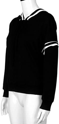 Vidlan Femmes longues manches Hoodie Sweatshirt pull manteau à capuchon Casual Pullover