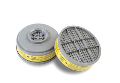Honeywell 695-B100300 Organic Vapors-Acid Gases OV-AG Cartridge S-Series 1 Box Of 6