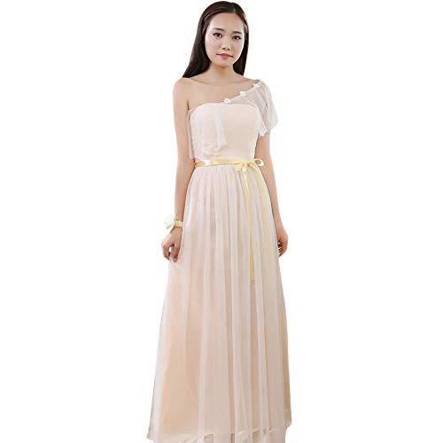 Robe de mariage en beige
