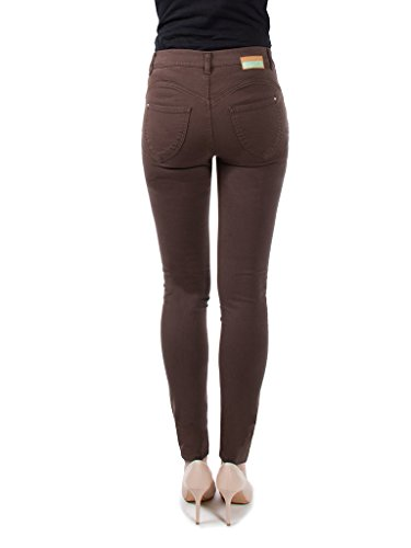 extensible taille Jeans Marron femme Carrera tissu Jeans normale taille pour 767 skinny BWWncUH
