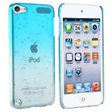 Insten Snap-On Case for Apple iPod touch 5G, Clear Sky Blue Water drop (Ipod Touch Gen3 Case)