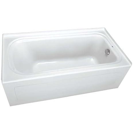 Elegant ProFlo PFS6036RSK 60u0026quot; X 36u0026quot; Alcove Soaking Bath Tub With Skirt  And Right Hand