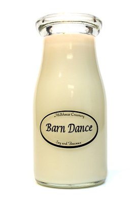Barn Dance Milkbottle Candle by Milkhouse Creamery -