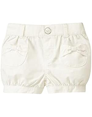 Baby Girl's White Bubble Shorts12-18 Months!