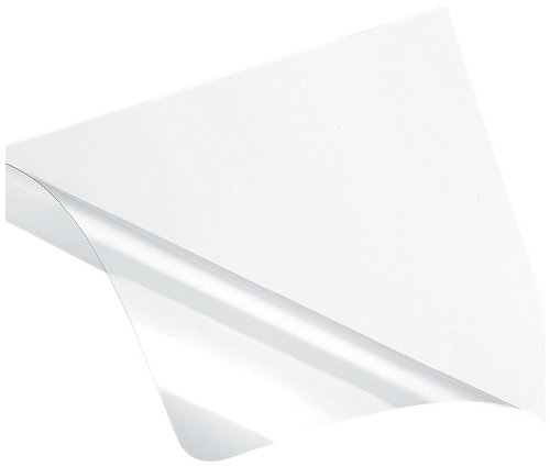 Fellowes Recyclable Binding Covers Ultra Clear, 7 Mil, Letter, 100 Pack - Title Letters