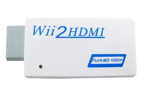 Wii to HDMI Converter - Supports All Wii Display Modes, HDMI Upscale to 720p or 1080p Output BrainyTrade