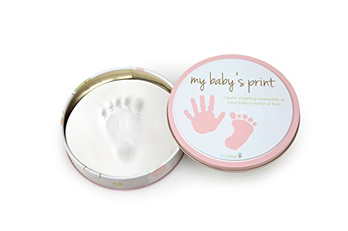 Tiny Ideas Easy to Use Handprint Tin, Pink (New Frames Baby Picture)