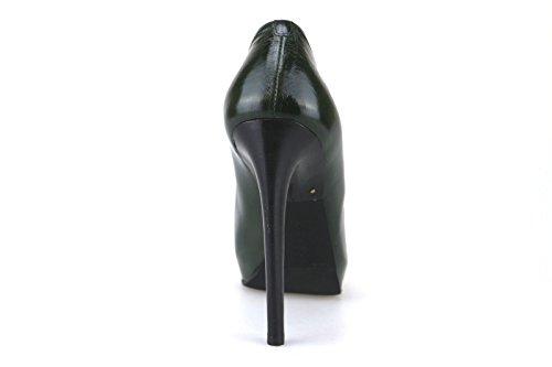Fabi Eu Campi Aj54 36 Donna Pelle Verde Scarpe SHOnwqx4A