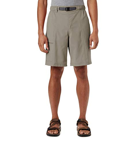 Columbia Men's Big and Tall Trail Splash Shorts, Stain & Water Resistant, Sun Protection, tusk, 5X x 10