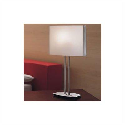 Zaneen Lighting D8-4068 Tecla Table Lamp, Nickel