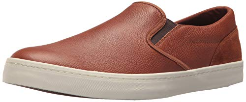 (Cole Haan Mens Nantucket Deck Slip-On British Tan Leather/Suede 11 D -)
