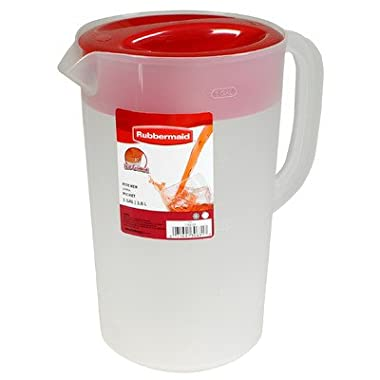 Rubbermaid Clear Pitcher, 1 Gallon