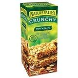 Granola Bars, Oats & Honey, 1.5 oz Bar, 48/Carton, Sold as 1 Carton