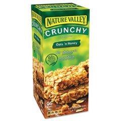 Granola Bars, Oats & Honey, 1.5 oz Bar, 48/Carton, Sold as 1 Carton ()