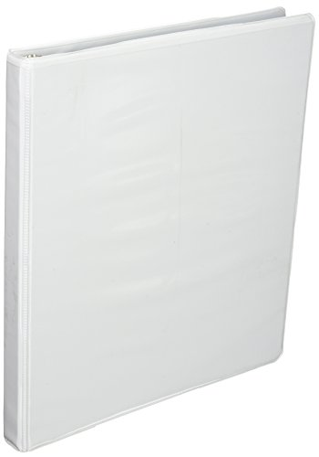Business Source .5-Inch Standard Presentation Binder - White (09980) ()