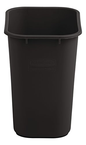 Rubbermaid Commercial Medium Wastebasket, 28 Quart - Brown, 2018376 by Rubbermaid Commercial Products