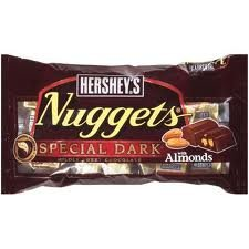 Hershey's Nuggets - Special Dark with Almonds - 8 oz