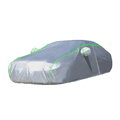 HWHCZ Compatible with Car Cover Chrysler Sebring, Carbon Fiber Oxford Car Cover,Thickening Upgraded Style,Suitable for All Kinds of Weather