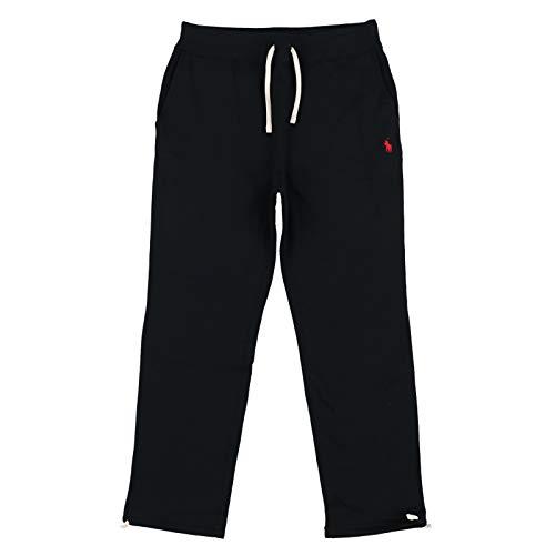 Polo Ralph Lauren Mens Fleece Athletic Pants (X-Large, PRL Black) ()