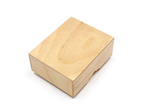将棋駒箱 素材:合板 (PlyWood) 竹将棋駒付