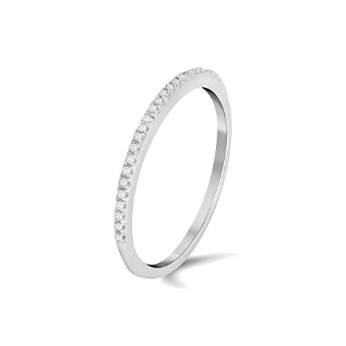 Diamond Accent Band Ring - 6