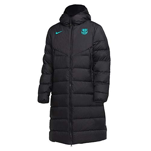 Nike 2020-2021 Barcelona Down Fill Jacket (Black)