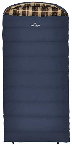 TETON Sports Celsius XL 0F Sleeping Bag; Great for Family Camping; Free Compression Sack (Renewed) ()