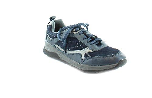 Earth Womens Traveler Sneaker Suede/Mesh Navy Multi 7s7T63trqV