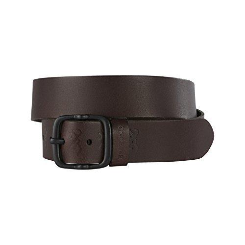 Browning Belt for Men, Kamas, Brown, Leather, 36, Pack of 1 (Mens Browning Brown Leather Belt)