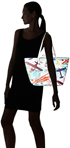 Épaule Cm Portés b X Femme Sacs H 12x28x30 T multi Bulaggi Multicolore Shopper Plane wqRH1T