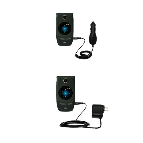 Essential Gomadic AC /DC Charge Accessory Bundle for the HTC 3125. Kit includes the Gomadic Home and Car Chargers at a Money Saving Price. Based on TipExchange Technology (Htc 3125 Accessory)