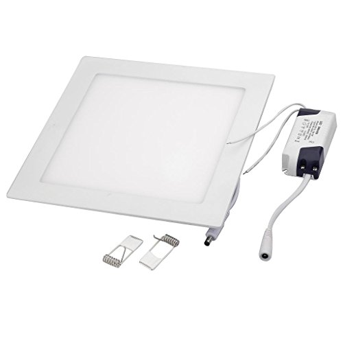 18w Led Panel Light Flat Ultra Thin Led Panel Downlight: NexScene Dimmable 18W 9 Inch Ultra Thin Anti-fogging