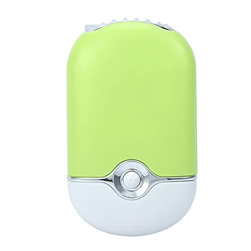(Ruiqas Mini Fan, Portable USB Fan Air Conditioning Eyelash Extension Glue Quick Dry Tool (Color : Green))