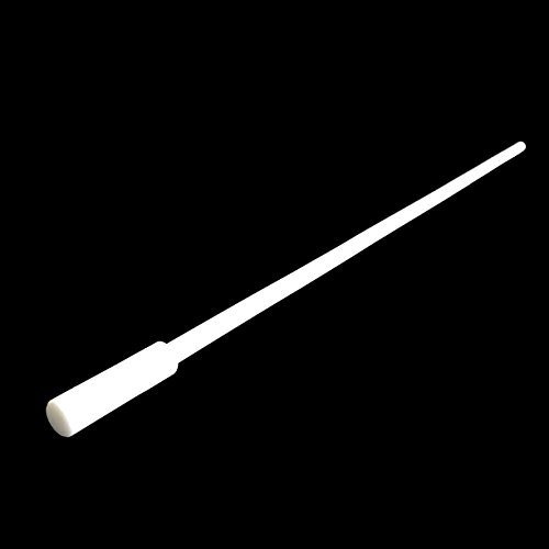 (Extra Long 40 cm Magnetic Stir Bar Retriever - 16 inch Length - White, Teflon PTFE, Anti-Corrosive, Chemical resistant)