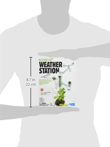 Amazon.com: 4M Weather Station Kit: Toys & Games